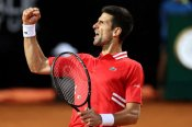 Djokovic denies spirited Sonego to set up Nadal final in Rome