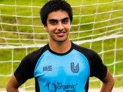 FC Bengaluru United's Shreyas Ketkar makes his way to the India U-19 set-up