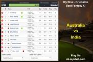 My Khel - Cricbattle Daily Fantasy Cricket League Tips: Australia vs India on November 21