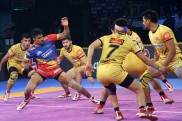 PKL: UP Yoddha edge Telugu Titans