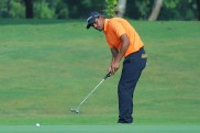 Akshay Sharma fires two eagles en route second straight 67 to keep the lead