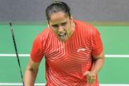 Saina, Saurabh emerge champions in the National badminton