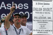 Why England-Australia Test rivalry is called 'Ashes'?
