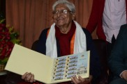 Indian Postal Department honours Chuni Goswami on 82nd birthday with commemorative stamp