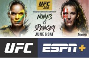 UFC 250 to be headlined by Amanda Nunes vs. Felicia Spencer