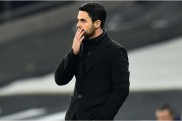 Arsenal left cross at lack of goals as numbers fail to add up for Arteta