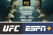 UFC 259 to be headlined by three thrilling world championship bouts