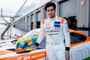 Mercedes-AMG racing star Arjun Maini shows speed at the Lausitzring