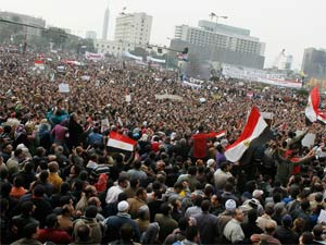 Egyptians Demand End Military Rule