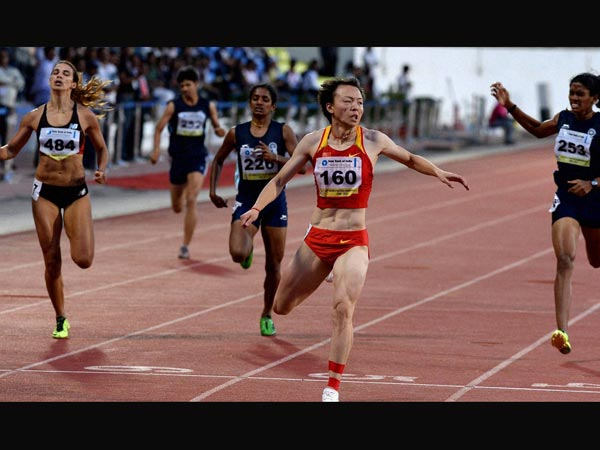 400m race at Asian Athletic Championship