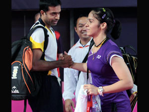 File photo: Gopichand with Saina