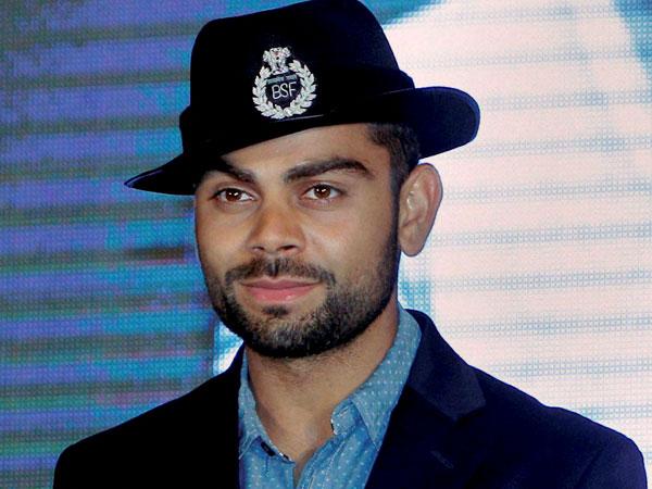 Image result for virat kohli as the brand ambassador of BSF