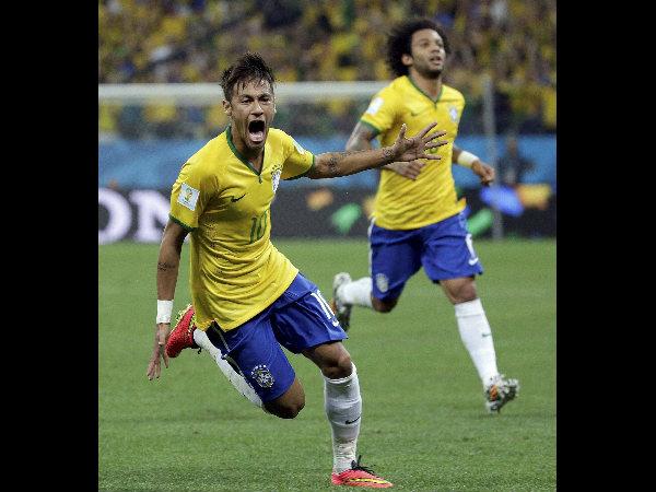 I M Very Very Happy Score Two Goals Neymar
