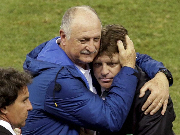 Scolari Pleased With Team Despite Drawing With Mexico
