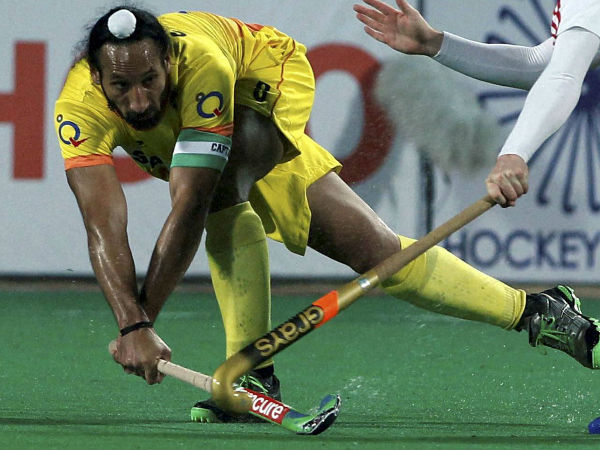 File photo of India captain Sardar Singh