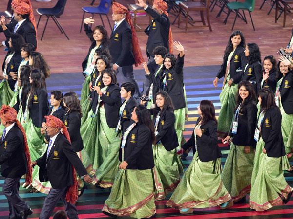 Commonwealth Games Declared Open After Colourful But Touchin