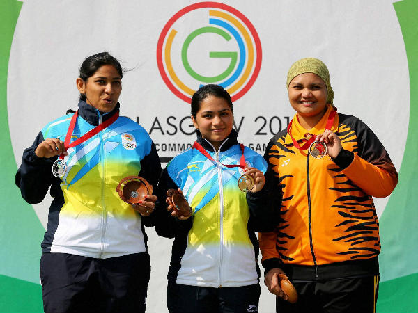 Apurvi Chandela Bags Gold Shooters Give Three More Medals