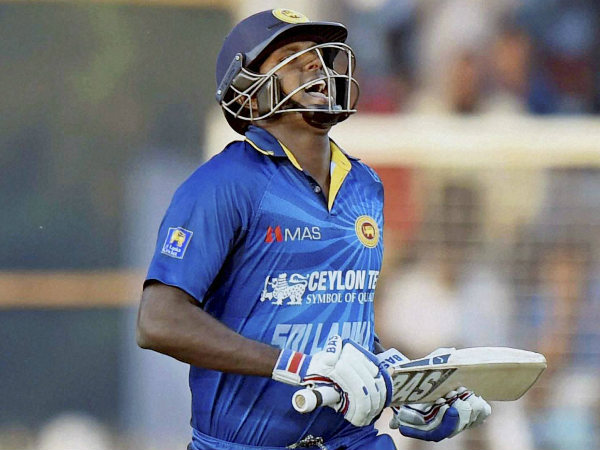 Angelo Mathews will lead Sri Lanka at the World Cup