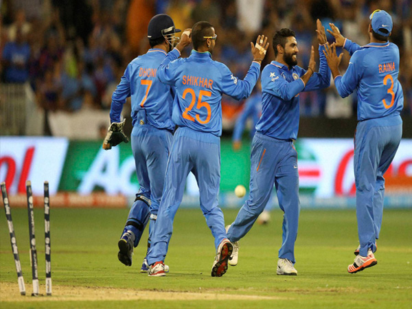 File photo of Indian players celebrating