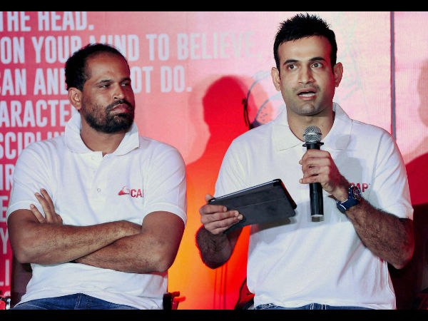 File photo: Irfan (right) with his brother Yusuf Pathan