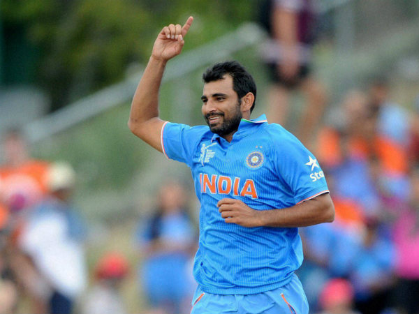 File photo of Mohammed Shami
