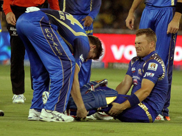 MI player Aaron Finch ruled out of IPL 2015
