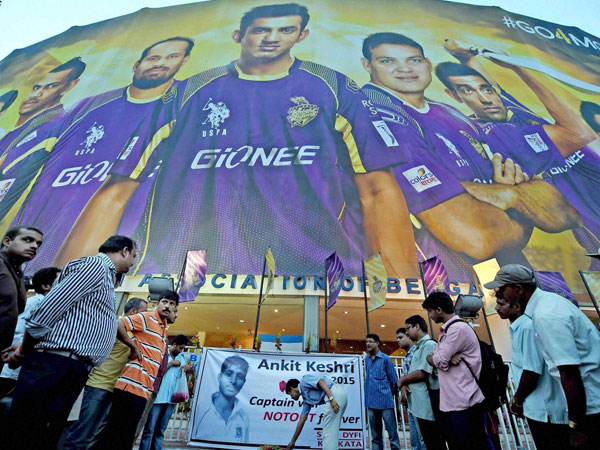 KKR's victory marred by Ankit's death