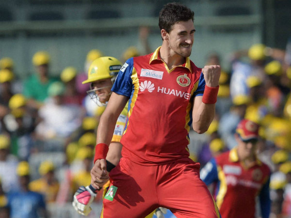 Mitchell Starc has played a big part in RCB's revival