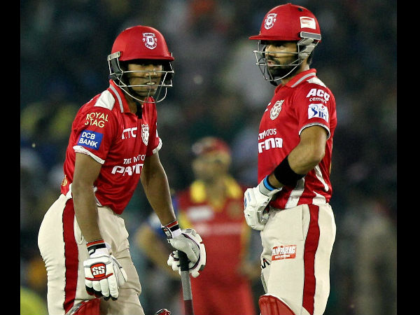 Saha (left) and Vohra during their opening partnership