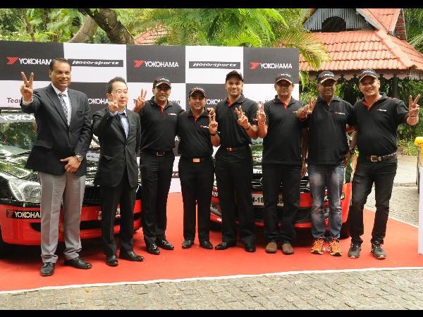 Team Yokohama Ready 2015 Indian Rally Championship
