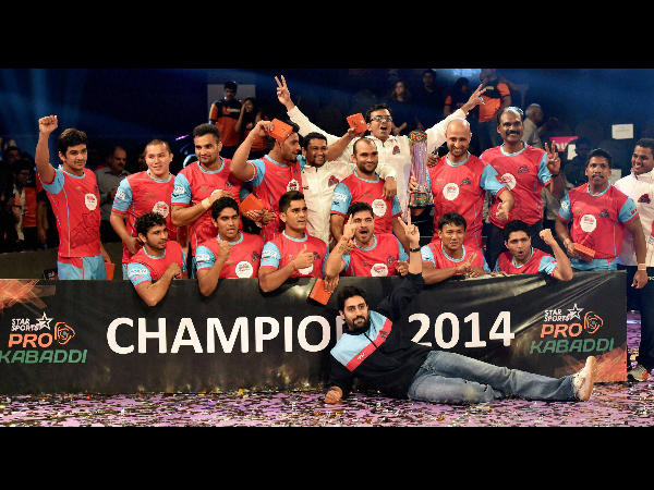 Last year's winners Jaipur Pink Panthers