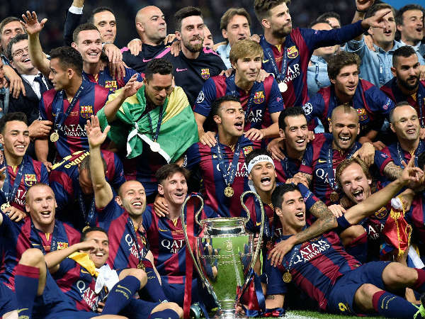 Barcelona Win Champions League 2015 Mykhel