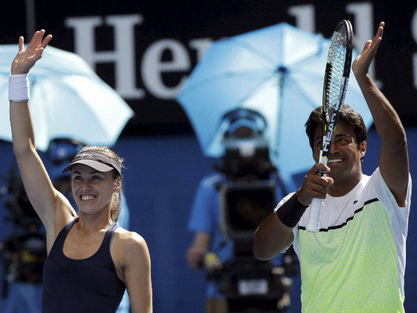 File photo: Hingis and Paes