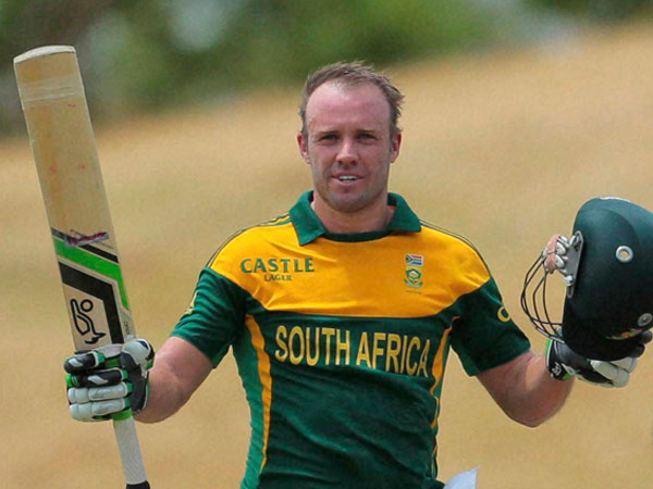 Another milestone for AB de Villiers (file photo)