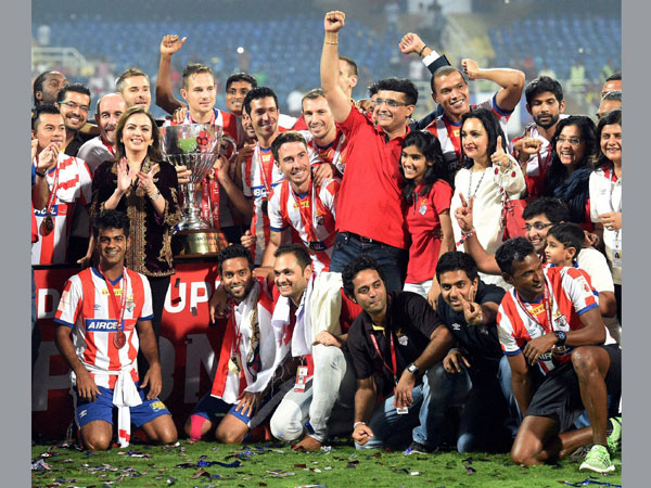 File photo: Atletico de Kolkata celebrating after winning the ISL title last year