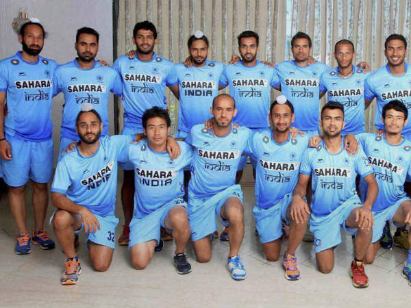 A file photo of Indian hockey team