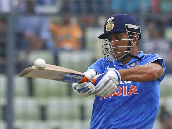MS Dhoni's knock was not enough