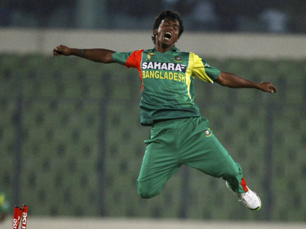 File photo: Paceman Rubel Hossain has been dropped