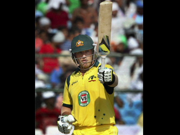 File photo: Aaron Finch hit a half century