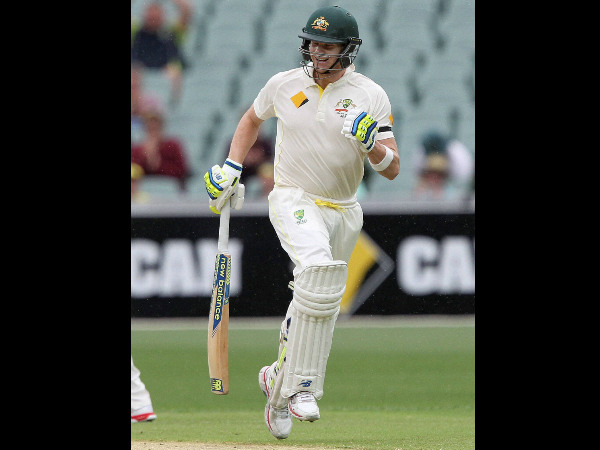 File photo: Steve Smith scored 53 not out