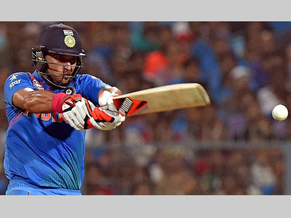 Yuvraj Singh is doubtful for the semi-final