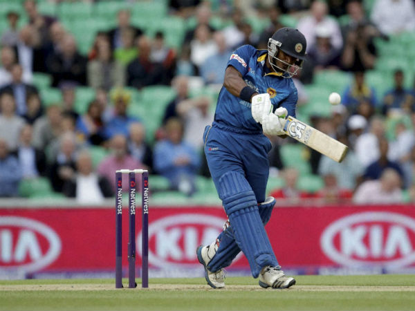A file picture of Kusal Perera batting against England in a T20 in London in 2014