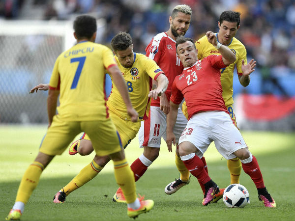 Euro 2016: Romania hold Switzerland to hard-fought draw