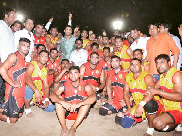 Wrestler Sangram Singh Promotes Haryana Circle Kabaddi League