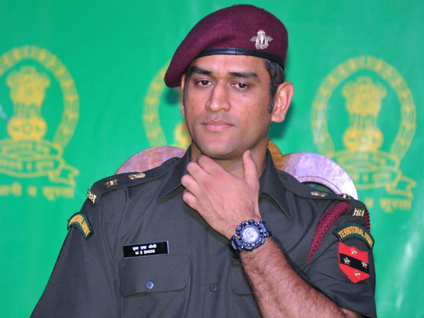 MS Dhoni is a Lieutenant Colonel