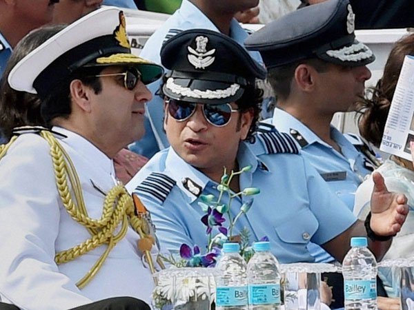 Sachin Tendulkar is Group Captain in IAF