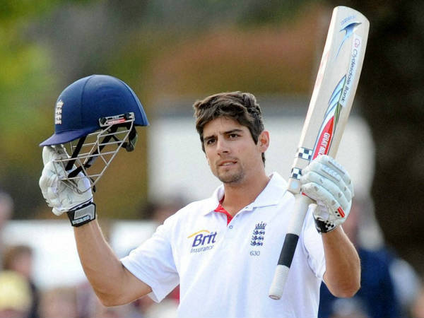 Alastair Cook hit his 29th Test century