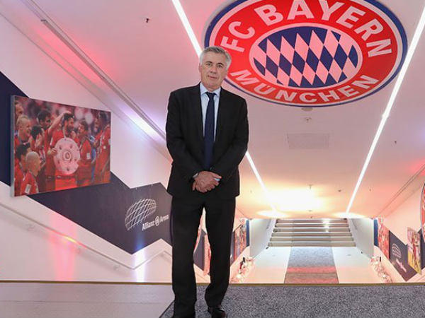 File Photo: Carlo Ancelotti at Bayern Munich club