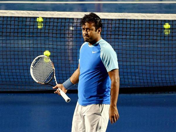 'Leander Paes wants to beat Krishnan's Davis Cup record'