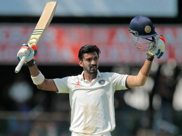Kl Rahul And Murli Vijay Images: KL Rahul Slams 3rd Test Century, Makes Most Of Murali